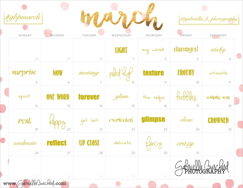 march-photo-challenge